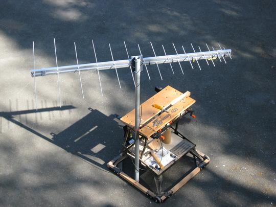 VHF-UHF Log Periodic Antenna