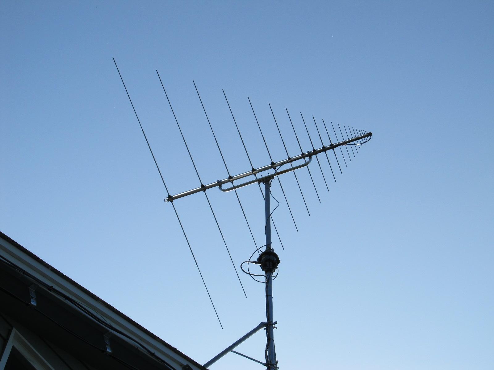 VHF-UHF Log Periodic Antenna-North